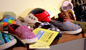 Assortment of children's shoes inside Blue Linen Boutique located at 15 S River Road, St. George, Utah, October 23, 2014 | Photo by Ali Hill, St. George News