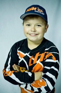 Jackson Glathar posing for a his headshot for the 2014 Monster Energy Cup   Photo courtesy of Sean Glathar, St. George News
