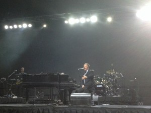 Jim Witter's The Piano Men pays tribute to the 1970s through the music of Billy Joel and Elton John during the Senior Games concert and celebration, St. George, Utah, Oct. 14, 2014 | Photo by Hollie Reina, St. George News