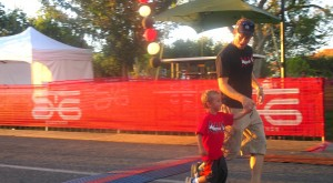 At the finish line, Kids Run, St. George, Utah, Oct. 3, 2014 | Photo by Mori Kessler, St. George News
