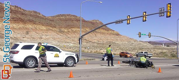 Motorcycle Collision Leaves Woman In Critical Condition