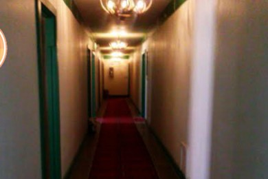 Peering down the hallway at the Overland Hotel & Saloon, 662 Main Street in Pioche, Nevada, Oct. 29, 2014 | Photo by Aspen Stoddard, St. George News