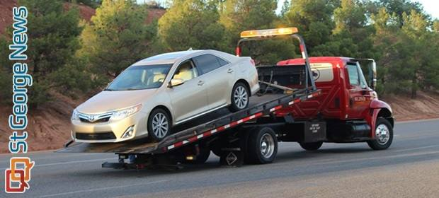 Failure To Yield Results In Collision On Red Cliffs Drive