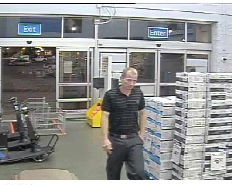 Cedar city police are asking for the public's help in identifying this man wanted for theft | Photo courtesy of the Cedar City Police Department, St. George News
