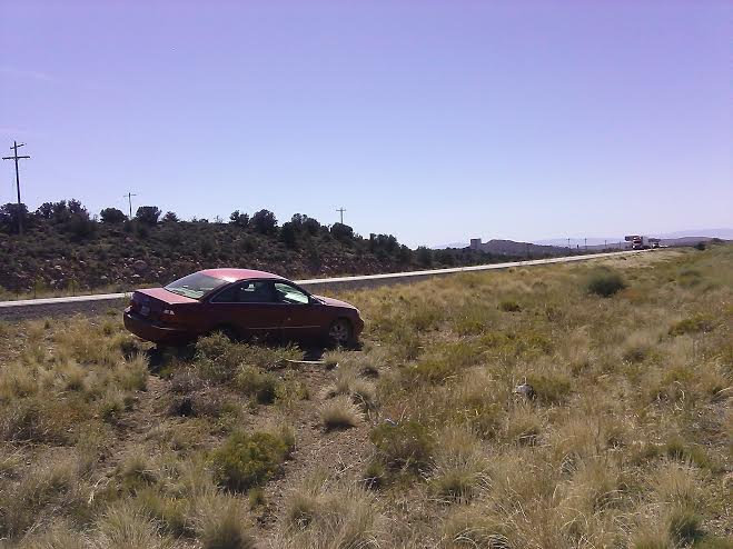 The aftermath of the accident that occurred near mile marker 27 northbound Interstate 15, Toquerville, Utah, Oct. 10, 2014 | Photo by Aspen Stoddard, St. George News