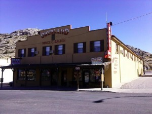 At the Overland Hotel & Saloon, 662 Main Street in Pioche, Nevada, Oct. 29, 2014 | Photo by Aspen Stoddard, St. George News