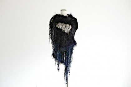 Celeste Meyeres' first-place winning shawl in Stevie Nicks design contest 2014. Location and date not provided | Photo by Alicia Cram Photography, courtesy of Nicholas Meyeres, St. George News