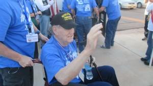 Veterans welcomed home, St. George, Utah, Oct. 2, 2014 | Photo by Mori Kessler, St. George News