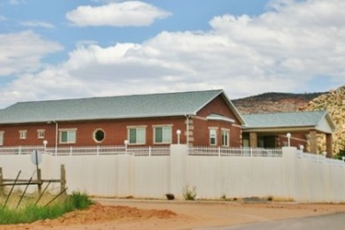 America's Most Wanted Bed & Breakfast is housed within the former Warren Jeffs compound, Hildale, Utah, July 23, 2014   Photo by Cami Cox Jim, St. George News