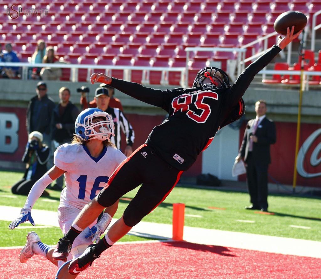 File photo from Dixie vs. Hurricane, 2014 3AA Football State Championship, Salt Lake City, Utah, Nov. 21, 2014 | Photo by Robert Hoppie, ASPpix.com, St. George News
