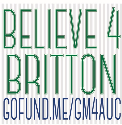 Beleive4Britton logo is being used Facebook profile pictures for many in support of Britton Shipp who lie in a coma after an ATV accident | Click on photo to enlarge