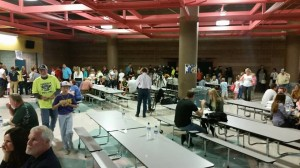 A fundraiser for the family of Britton Shipp at Snow Canyon High School, St. George, Utah, Nov. 10, 2014 | Photo courtesy of Denise Webster, St. George News