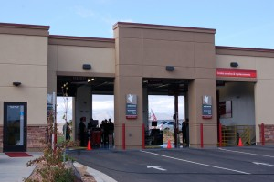 A new Jiffy Lube, located at 1393 S. River Road, is officially opened at a ribbon-cutting ceremony, St. George, Utah, Nov. 14, 2014   Photo by Hollie Reina, St. George News