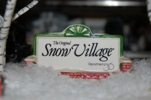"A whimsical winter collection of Department 56 Snow Village and ""O"" Lionel Train paraphernalia sits on display at the home of Terry Schramm where he will welcome guests during the model train home tour, St. George, Utah, Nov. 6, 2014 