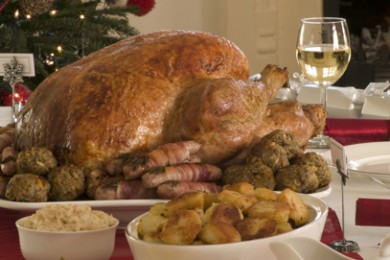 Roast Turkey Christmas Dinner