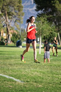Skyler Storie, Dixie State University athlete, participating in a cross country event, St. George, Utah, undated | Photo courtesy of Photo courtesy of Breanna Orullian, St. George News