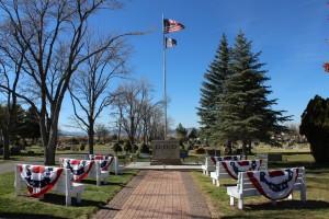 The Cedar City Veterans Memorial at the Cedar City Cemetery, Cedar City, Nov. 11, 2014 | Photo by Devan Chavez, St. George News