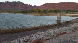 Plans are in place to renew and revive the Ivins Reservoir, one of the oldest in the county. Ivins, Utah, Nov. 10, 2014|Photo by Julie Applegate, St. George News