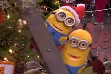 "A ""Despicable Me"" tree at the Jubilee of Trees, St. George, Utah, Nov. 21, 2014 