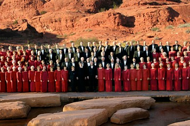The Southern Utah Heritage Choir, St. George, Utah, undated   Photo courtesy of the Southern Utah Heritage Choir, St. George News