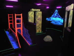 Inside the a-maze-ing miniature golf course at Laser Mania located 67 E. St. George Blvd. #10, St George, Utah, date not specified | Photo courtesy of Laser Mania, St. George News