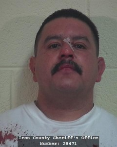Eduardo Quinones booking photo posted Nov. 17, 2014 | Photo courtesy of Iron County Sheriff's Office