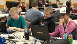 Programmers of all ages competed at the 5th annual Code Camp at Dixie State University, St. George, Utah, November 21-22, 2014   Photo by Samantha Tommer, St. George News