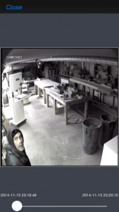 A thief caught on camera at Ruby's Inn in Bryce Canyon City, Utah, Nov. 15, 2014 | Photo courtesy of Ruby's Inn, St. George News