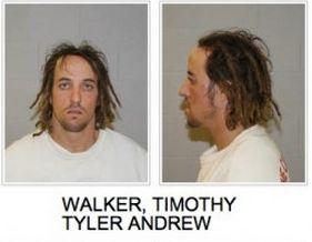 Timothy Tyler Andrew Walker booking photo, St. George, Utah, January 2013