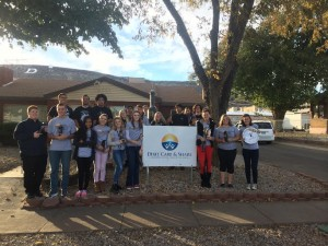 The Washington County Youth Coalition delivered quit kits to people in the homeless community to educate and help them to stop smoking, St. George, Utah, Nov. 20, 2014 | Photo courtesy of Kaysha Price, for St. George News