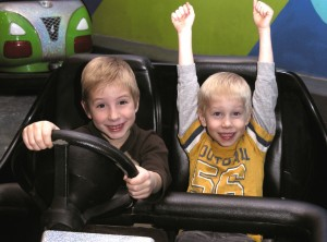 Kids enjoying the bumper cars at Laser Mania located 67 E. St. George Blvd. #10, St George, Utah, date not specified | Photo courtesy of Laser Mania, St. George News