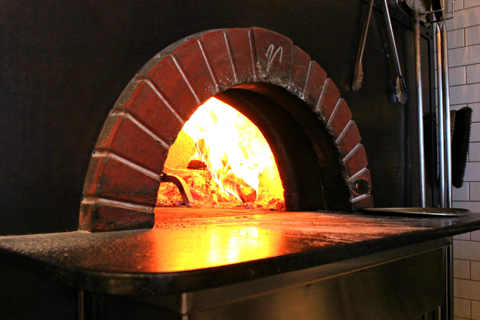 Wood fire oven used to cook all menu items served at Centro Pizzeria located 50 W Center St, Cedar City, Utah, Nov. 1, 2014 | Photo by Ali Hill, St. George News