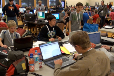 Programmers of all ages competed at the 5th annual Code Camp at Dixie State University, St. George, Utah, November 21-22, 2014 | Photo by Samantha Tommer, St. George News