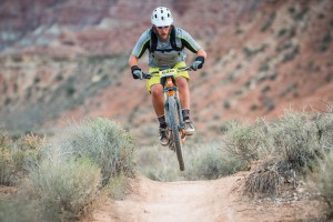 Riders participate in the 25 Hours in Frog Hollow endurance mountain bike race, Virgin, Utah, Nov. 1, 2014   Photo by Dave Amodt, St. George News