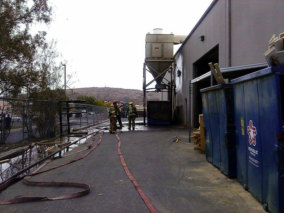 Sgfd Responds To Fire At Riverwoods Mill St George News