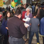 Red Rock Canyon School Community Thanksgiving Dinner, St. George, Utah, Nov. 27, 2014 | Photo courtesy of Nancy Christensen, KCSG Television and St. George News