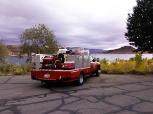 After the search at Quail Lake Reservoir, Utah, Nov. 1, 2014 | Photo by Aspen Stoddard, St. George News