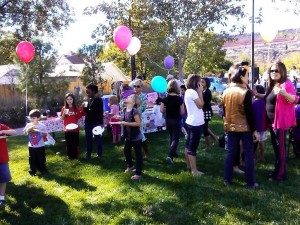 at the Celebrating Families Through Adoption event held at the Town Square Park in St. George, Utah, Nov. 8, 2014 | Photo by Aspen Stoddard, St. George News