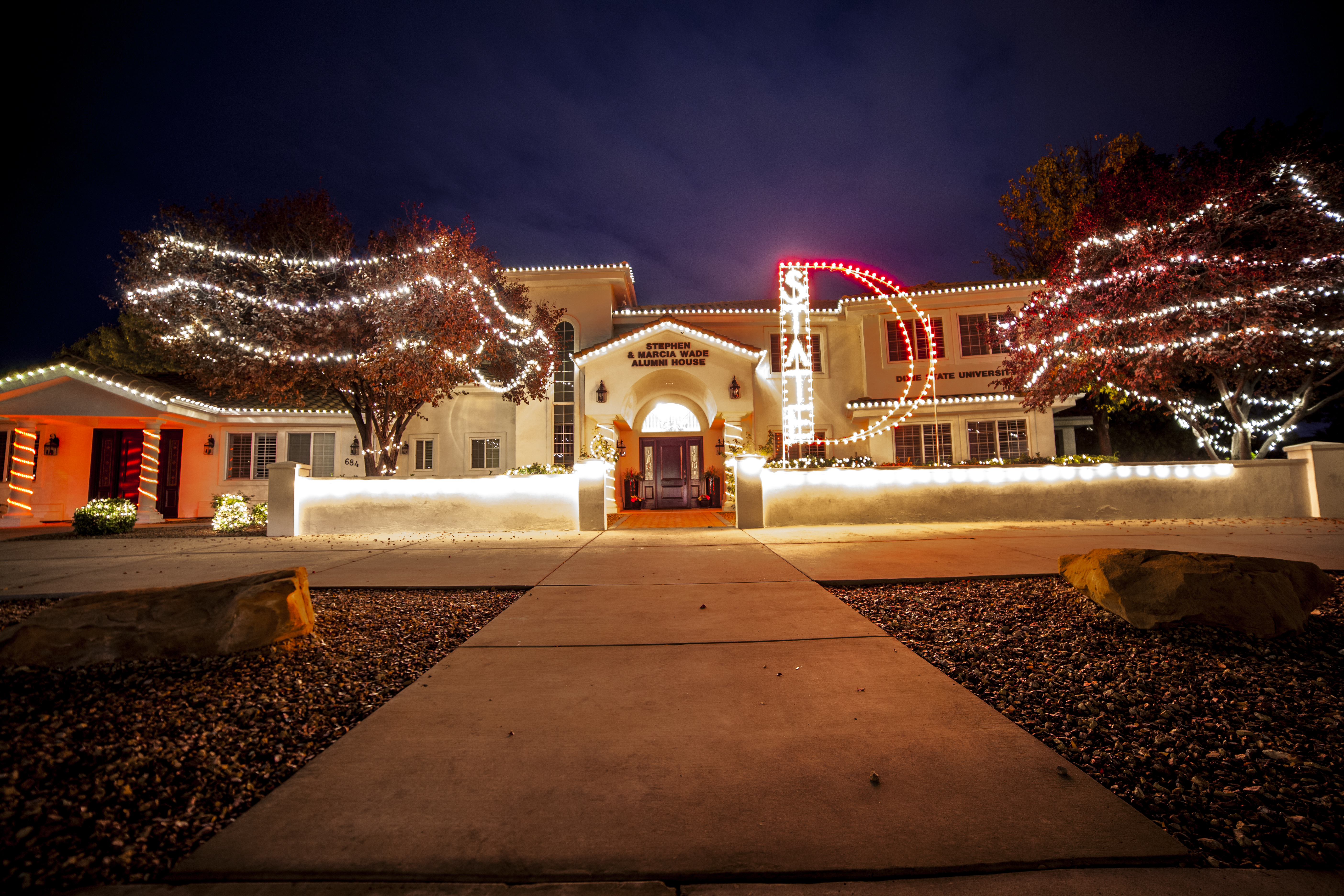 The Alumni House Event Center, Dixie State University, St. George, Utah, December 2014   Photo by Nate Truman courtesy of DSU Student Alumni Association President Chet Norman, St. George News
