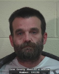 Benjamin Michael Wulfenstein, 38, booking photo posted Dec. 28, 2014 | Image courtesy of Iron County Sheriff's Office, St. George News