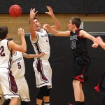 Hurricane vs Pine View, Boys Basketball, St. George, Utah, Dec. 17, 2014 | Photo by Robert Hoppie, ASPpix.com, St. George News