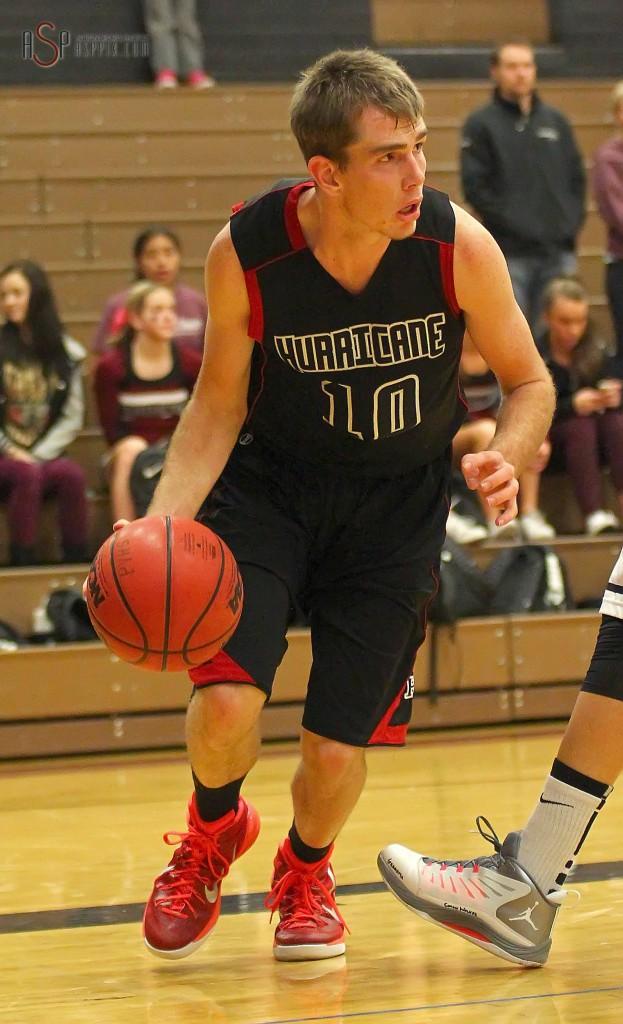 Austen Beatty (10), Hurricane vs Pine View, Boys Basketball, St. George, Utah, Dec. 17, 2014 | Photo by Robert Hoppie, ASPpix.com, St. George News