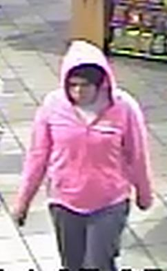 The female suspect in a robbery at a Cedar City Texaco fuel and convenience store, Cedar City, Utah, Dec. 26, 2014   Photo courtesy of the Cedar City Police Department, St. George News