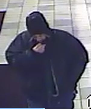 The male suspect in a robbery at a Cedar City Texaco fuel and convenience store, Cedar City, Utah, Dec. 26, 2014   Photo courtesy of the Cedar City Police Department, St. George News