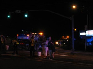 A collision at Bluff Street and 700 South, St. George, Utah, Dec. 3, 2014   Photo by Carin Miller, St. George News