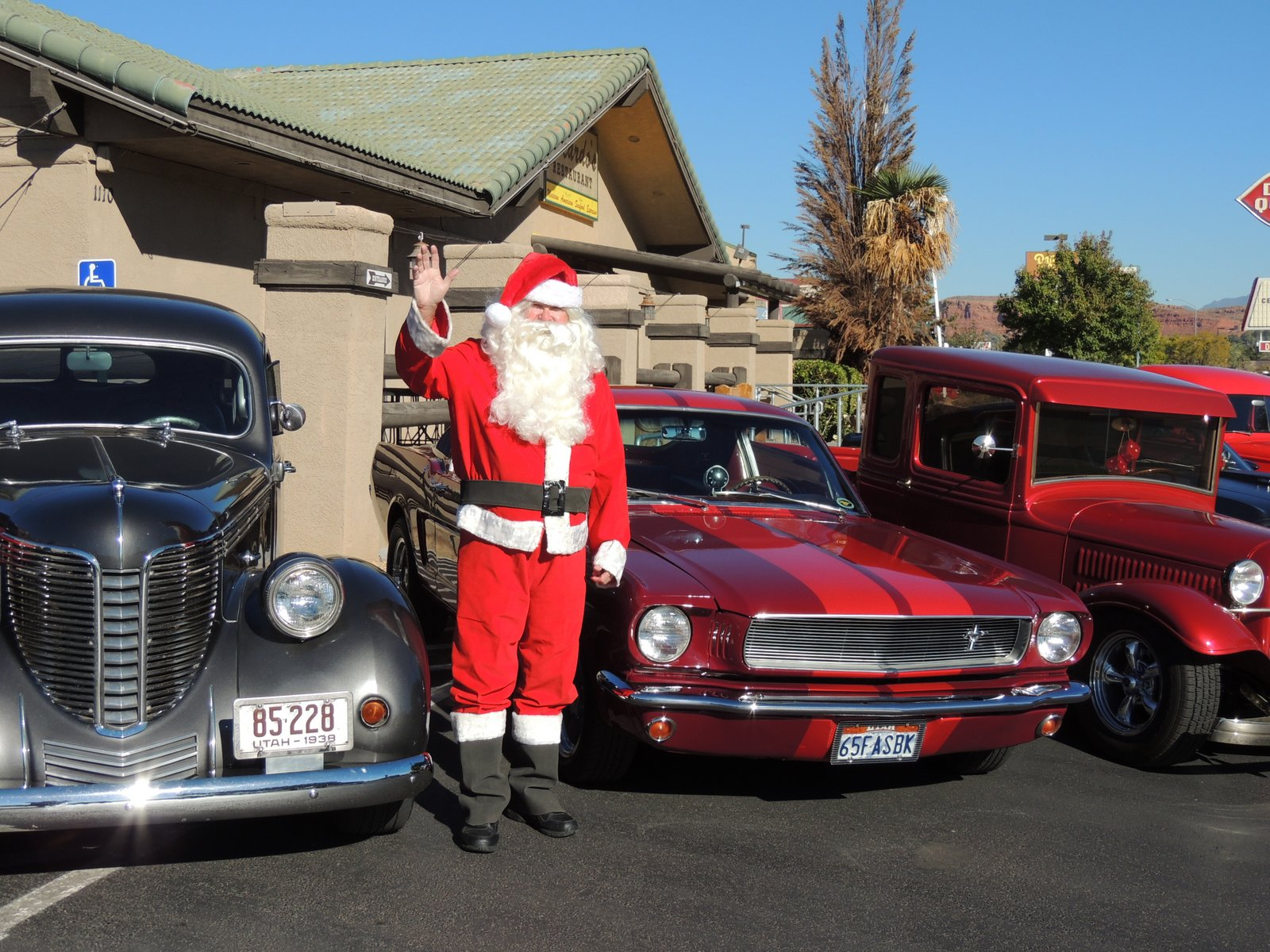 Santa Claus will be attending the fourth annual Car Guys Care Toys for Tots Classic Car Show & Shine will take place at Ricardo's Restaurant, St. George, Utah, circa, 2014 | Photo courtesy of Shane Dastrup, for St. George News