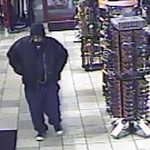 The male suspect in a robbery at a Cedar City Texaco fuel and convenience store, Cedar City, Utah, Dec. 26, 2014 | Photo courtesy of the Cedar City Police Department, St. George News