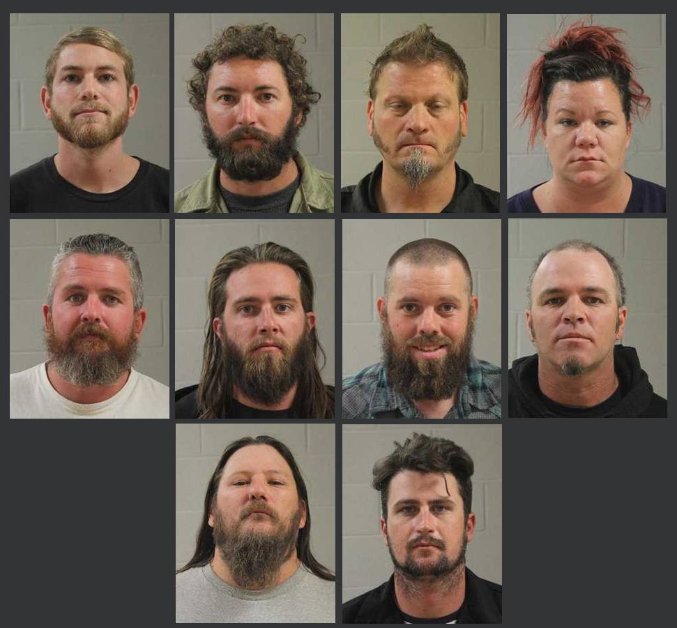 11 motorcycle gang members face riot charges after violent bar