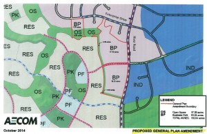 Fort Pierce General Plan Amendment | Map courtesy of St. George City, St. George News