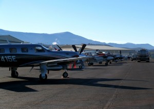 Santa Flight event Tuesday Morning   Photo taken by Carin Miller, St. George News